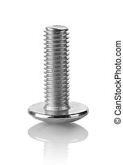 Bolt isolated - Big bolt isolated on a white background