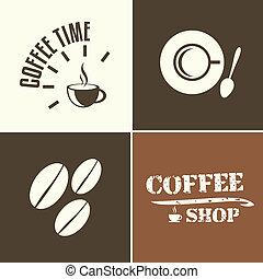 bolt, kávécserje időmérés