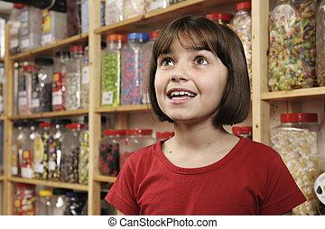 bolt, kellemes, gyermek