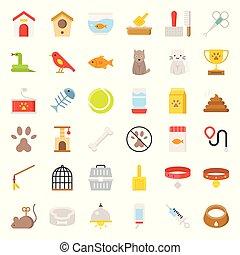 bolt, lakás, kedvenc, jelkép, kapcsolódó, vektor, ikon