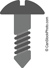Bolt - Nut, bolt, tools icon vector image. Can also be used...