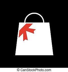 bolt, táska, jelkép, tehetség, kedves