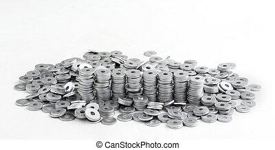 bolts, nuts, screws