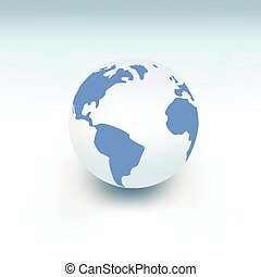 bolygó földdel feltölt, white labda