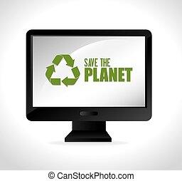 bolygó, megment, ökológia
