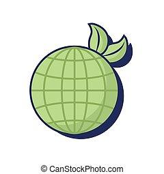 bolygó, világ, ökológia, földdel feltölt, környezeti