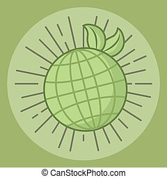 bolygó, világ, jelkép, ökológia, környezeti