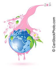 bolygó, virágzás