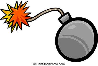 bomb clip art cartoon illustration