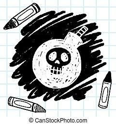 bomb doodle