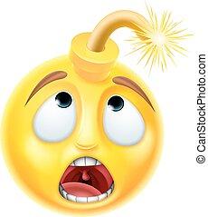 Bomb Emoji Emoticon