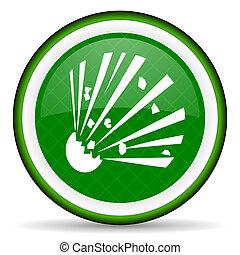 bomb green icon