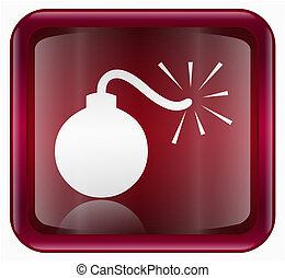 bomb icon red