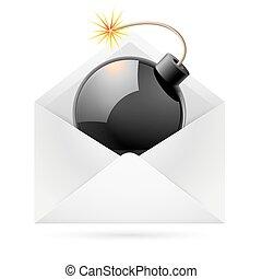 Bomb mail