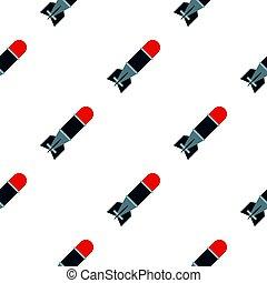 Bomb pattern flat