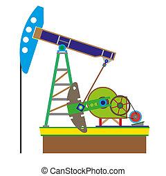 bomba, óleo