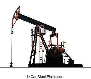 bomba, óleo, isolado