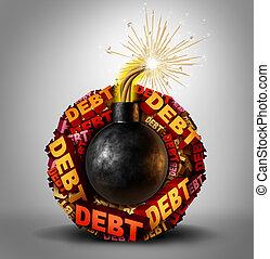 bomba, deuda