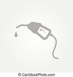 bomba, gasolina, bocal