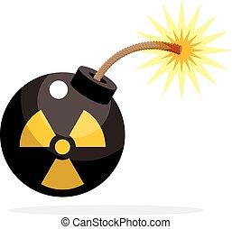 bomba nuclear, ativado