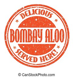 Bombay aloo sign or stamp