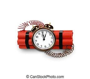 bombe, temps