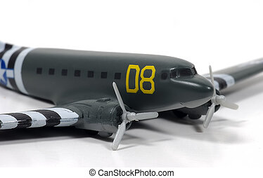 Bomber 2 - Photo of a Vintage WW2 Toy Bomber