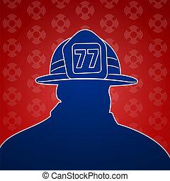 bombero, símbolos