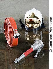 bomberos, materiales