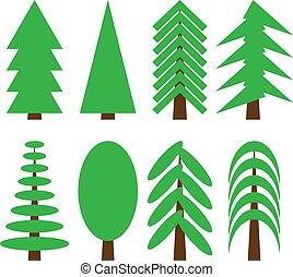 bomen., anders, verzameling