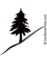 bomen, pictogram