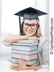 boné, estudante, graduação