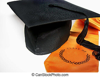 boné graduação, e, sash