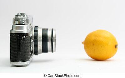 bon appareil-photo, détails, pellicule