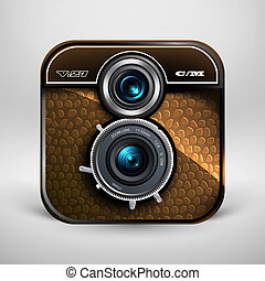 bon appareil-photo, photo, icône