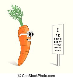bon, carotte, vision