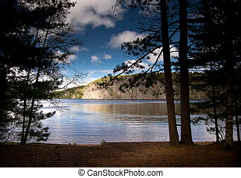 Bon Echo and Mazinaw Rock - The Mazinaw Rock at Bon Echo...