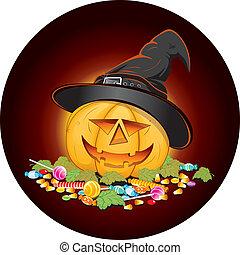 bonbons, halloween