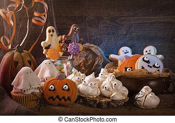 bonbons, nuit sorcières parti
