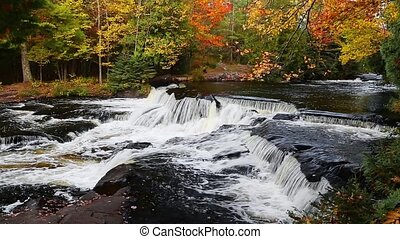Bond Falls and Autumn Foliage Loop
