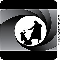 bond style illustration