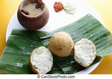 Bonda - A South Indian spicy snack. - Bonda - The process of...
