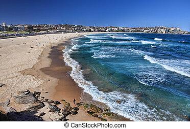 bondi, praia, austrália