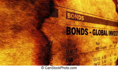 Bonds global investment