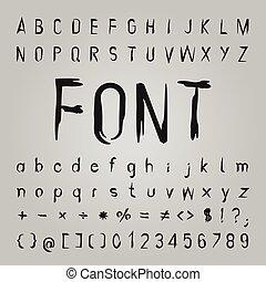 Bone Font Design