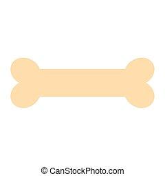 bone mascot care element icon