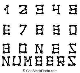 Bones numbers