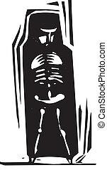 Bones within