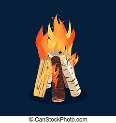 Bonfire night icon