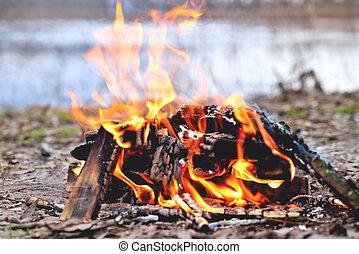 bonfire spring riverside c